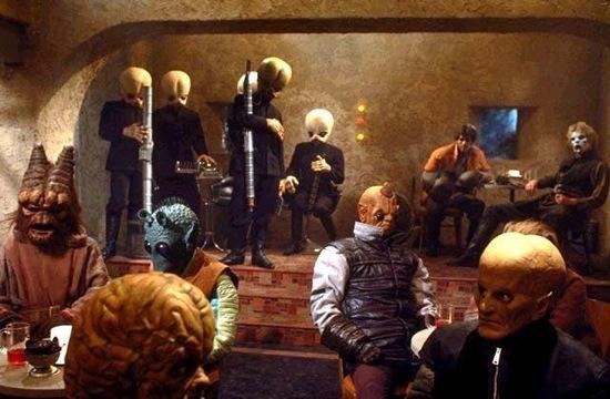 Bar Scene in Star Wars